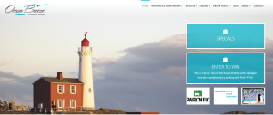 Travel Agent Web Design - Ocean Breeze Travel