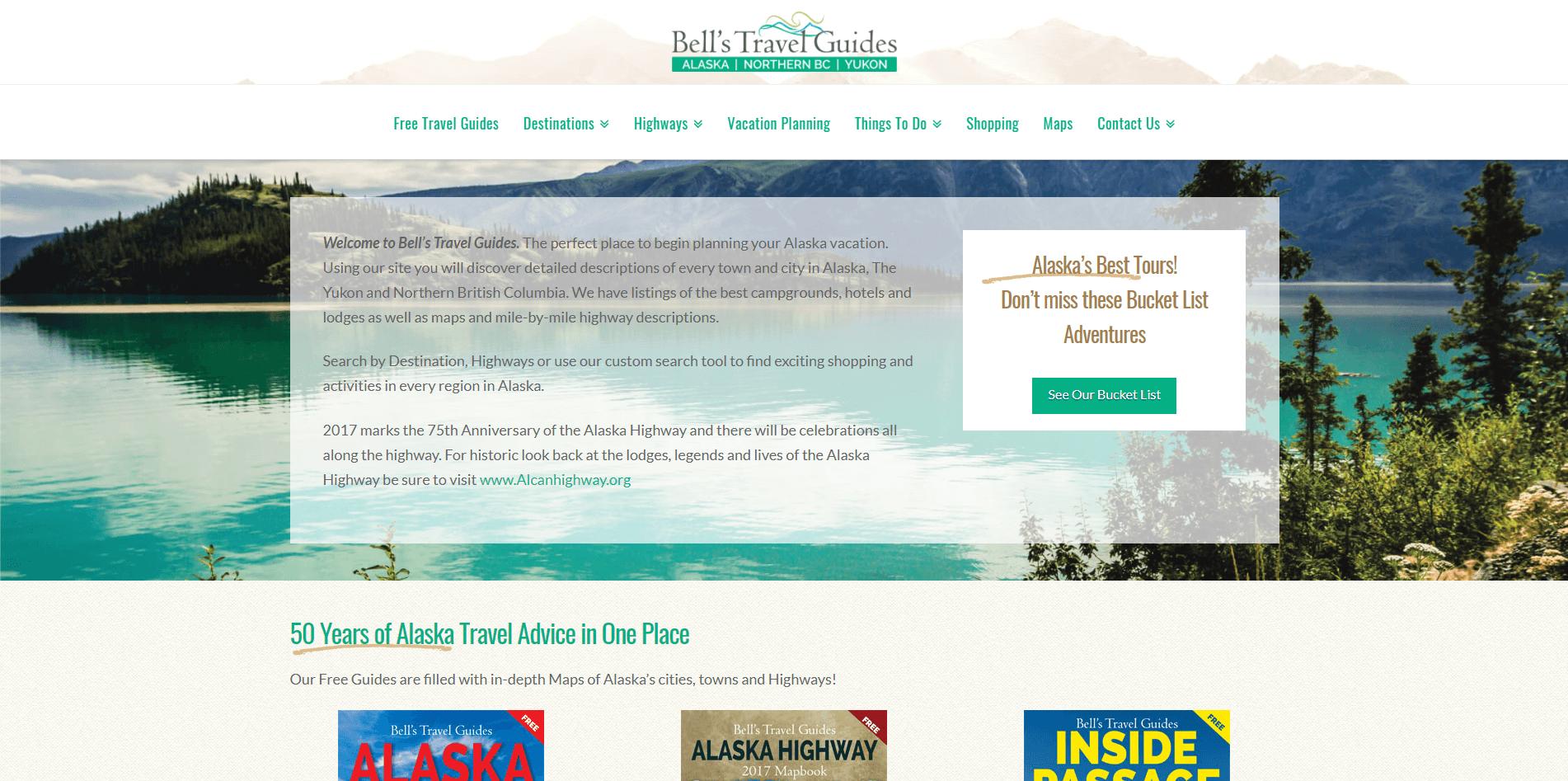 Bells Alaska Web Design