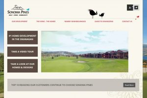 Sonoma Pines Web Design