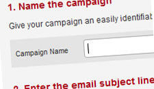 StickyMail Create Campaigns